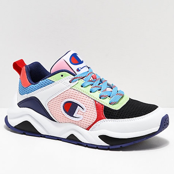Champion Shoes - Women Champion rainbow sneaker